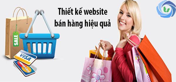 thiết kế web bán hàng hiệu quả