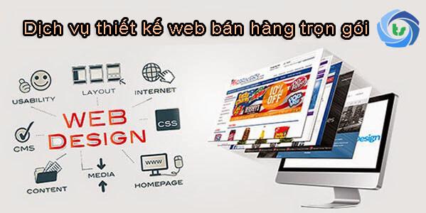 thiết kế web bán hàng trọn gói
