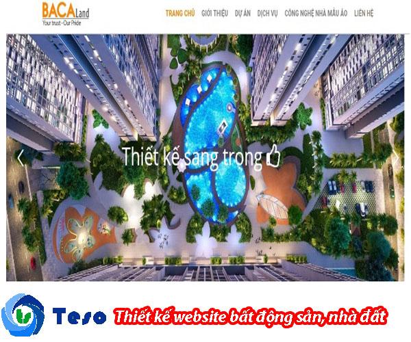 6 mẫu thiết kế website bất động sản, nhà đất chuẩn SEO 5