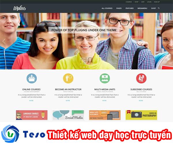 Thiết kế web dạy học trực tuyến ở đâu uy tín và chất lượng tại Hà Nội 3