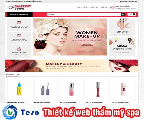 Thiết kế web thẩm mỹ spa ở đâu chuyên nghiệp, đảm bảo chuẩn SEO 4