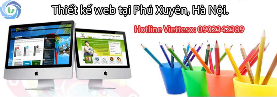 thiết kế web Phú Xuyên