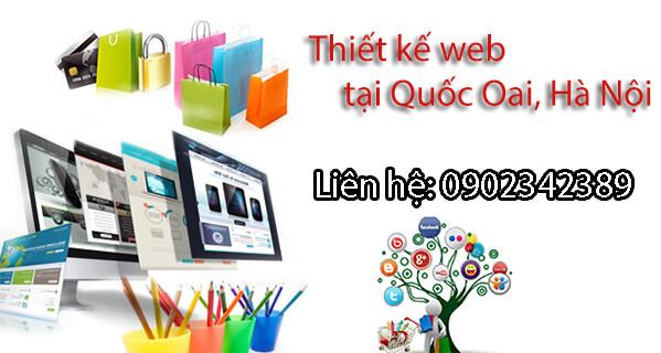 thiết kế web tại quốc oai hà nội
