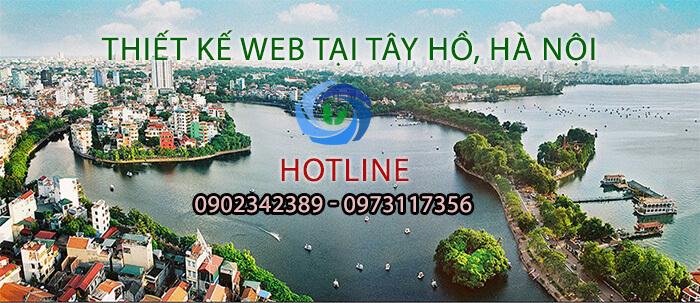thiết kế web tại Tây Hồ, Hà Nội