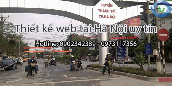thiết kế web tại thanh trì , hà nôi, vietteso